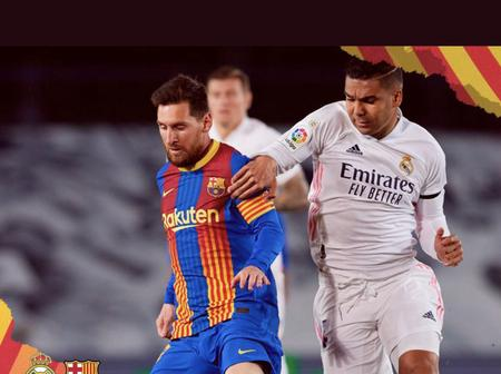 Was Last night Lionel Messi's last ELClasico? His contract end 30 June.