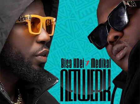 Bisa Kdei has come out with new song with the versatile artiste Medikal -NETWERK