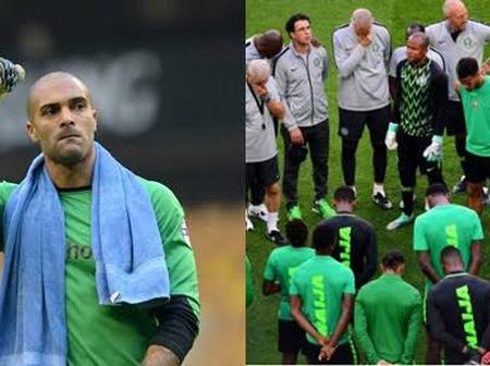Leon Balogun and Other Super Eagles Players pay Tribute to Former Super Eagles Media Officer.