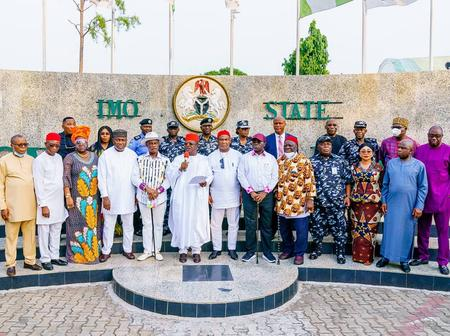 Hours After SE Governors Lunched Its Security Outfit, See The Real Meaning Of Ebube Agu