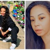 Kelly Khumalo gives one fan a piece of her mind after not being impressed with her accent.