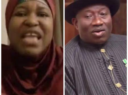 See What Aisha Yesufu Said About Former President, Goodluck Ebele Jonathan, That Got People Talking