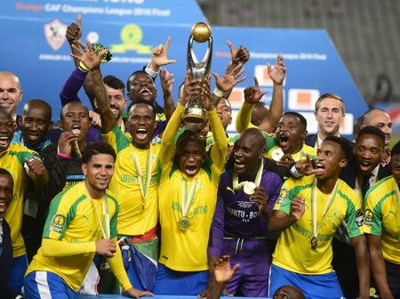 Mamelodi Sundowns ended Group B in the CAF Champions league in first place after 1-0 win.