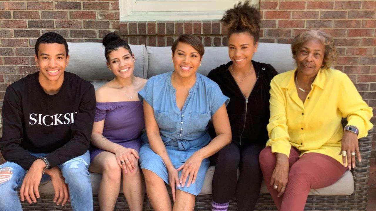 Jovita Moore wishes everyone a happy Mother's Day as she celebrates with family amid recovery