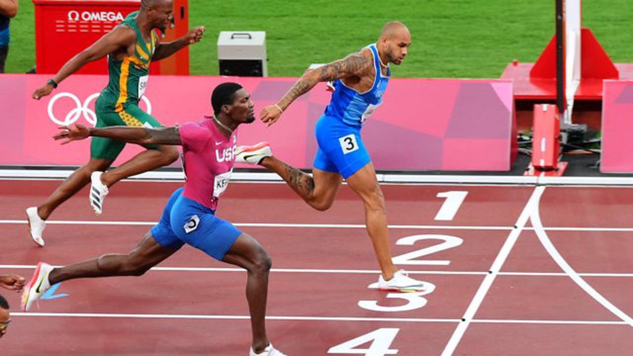 Marcell Jacobs wins men's 100m as Italy enjoy golden night in Tokyo