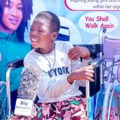 She Has Never Walked Since She Was Born, See What A Nigerian Football Star Plans To Do For Her