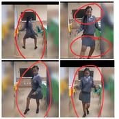 See What A Female SS2 Student Was Caught Doing In The Class That Got Twitter Users Reacting (Video)
