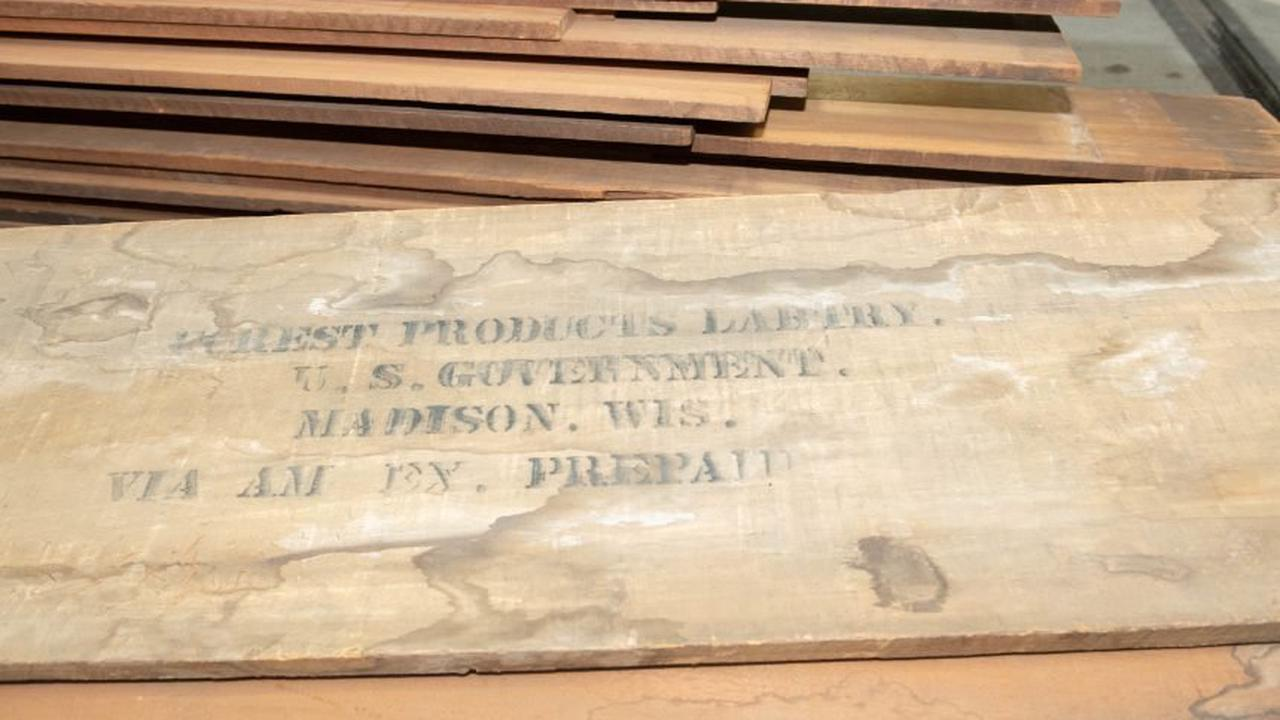 Wood from Madison laboratory headed for U.S. Capitol repairs