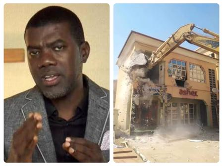 Reno blasts Kaduna Government for destroying Asher Hotel instead of using it as isolation centre