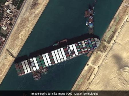 New Attempts To Free Ship Stuck In Suez Canal