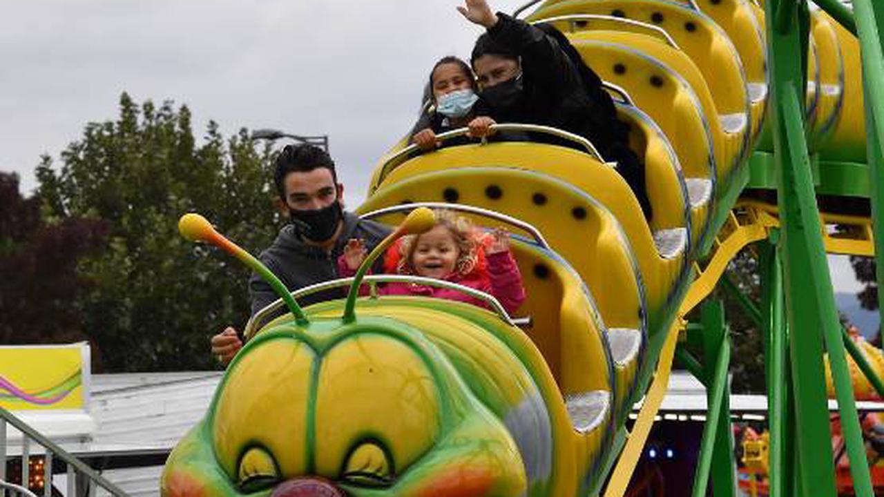 À Luna Park, à Clermont-Ferrand, les forains veulent encore croire à l'amusement