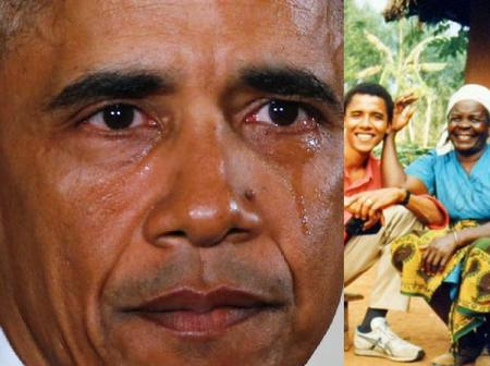 Barack Obama Mourns As He Shares Photo On Twitter, See His tweet Minutes Ago
