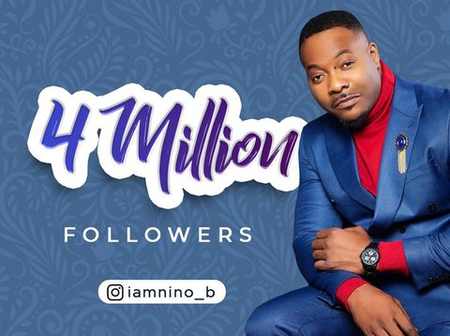 Congrats To Bolanle Ninalowo as he hits Four Million Followers on Instagram
