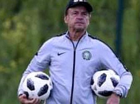 An Advice To Super Eagles Coach Ahead Of Nations Cup Qualifier Against Lesotho