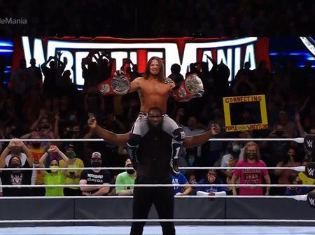 Lagos Born Wrestler Wins WWE RAW Tag Team Championship