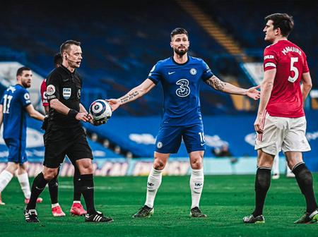 VAR And Referee Leave Manchester United Fans Angry After This Decision In Chelsea Game