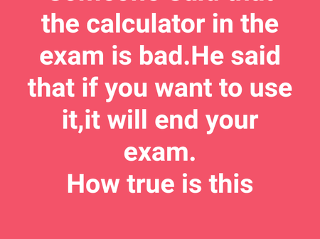 Students advise each other not to use calculator during 2020/2021 UNILAG Post-UTME