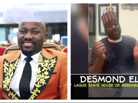 Check out what Desmond Elliot said about Apostle Johnson Suleman as he clocked 50