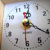 Here is why 'QUARTZ' is written across the face of a clock.