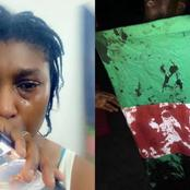 Actress Ufuoma McDermott In Tears As Unarmed #EndSARS Protester Was Shot In Lekki, Lagos State
