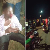 Angry Mob From Bungoma Beats A University Student Mercilessly On Motorbike Theft Suspicions