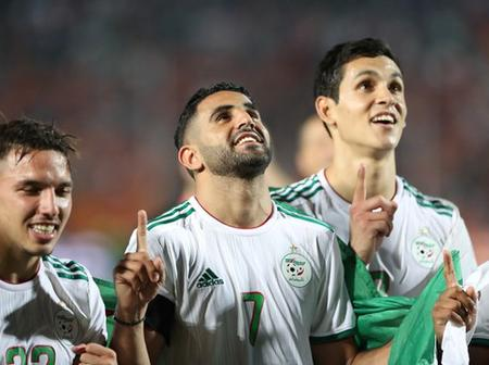 Mahrez shoots Algeria to the Africa Cup with an absolute wonder goal