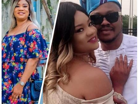 Yoruba Actress Opeyemi Aiyeola Shower Praises On Her Husband As He Celebrates His Birthday.