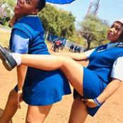 See Adorable Photos of These South African Secondary school girls slaying in their School Uniforms