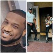 Peter Okoye Shows Off His Security Men, Says