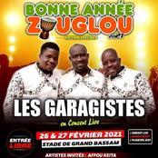 Concert Zouglou : Les Garagistes, Molière, Samy Succès... en attraction à Bassam ce week-end