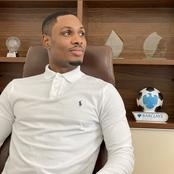 Nigerian striker Odion Ighalo show off his award collections on Social media