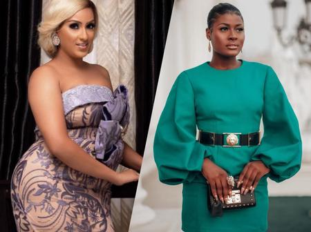 See How Alex Of BBNaija And Actress Juliet Ibrahim Dressed To Williams Uchemba's Wedding Today