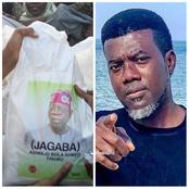 Hours After Tinubu Distributed Rice To Kano People, See What Reno Omokri Said About It