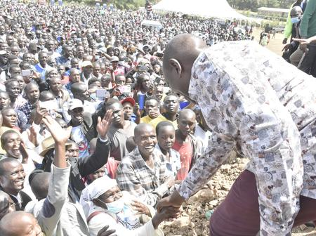 What Baringo People Did In The Presence Of Ruto