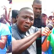 Sunday Igboho's Group Block Major Road In Ibadan As They Campaign For Oduduwa Nation (Video)