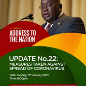 Covid 19 - Akufo Addo to address the Nation tonight. Will there be a possible lockdown?