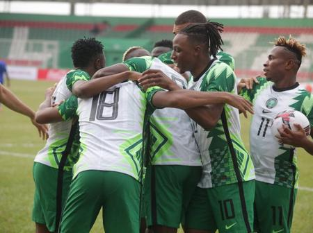 BREAKING: Good News For Rohr Ahead Of Lesotho Clash Today