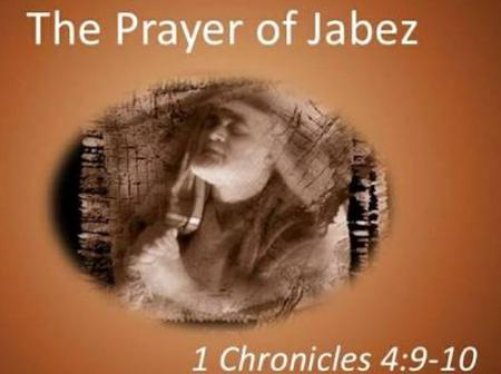Declare the Prayer of Jabez Over The New Month of September