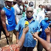 Aboisso : le Maire N'Gouan Jérémie offre 400 repas aux détenus de la prison civile