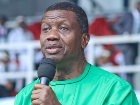 Airport official demanded bribe from me before I could travel by helicopter to Ibadan, says Adeboye