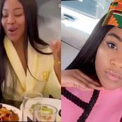 Erica gives her verdict after tasting Ghanaian jollof rice [video]