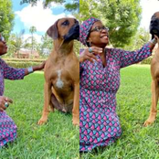 Lady Publicly declares her love for a Dog after Suffering Heartbreaks in the hands of Human.