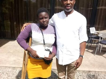 How Ugumba Uche changed the life of Miss Marry Daniel, the amputee sachet water seller.