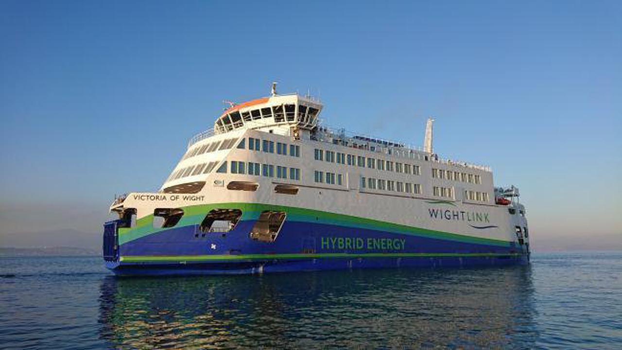 Wightlink's flagship ferry due back this week after crash