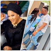 Actress Toyin Abraham Reacts As Actress Funmi Awelewa Shares Loved Up Pictures With Her Fiance.