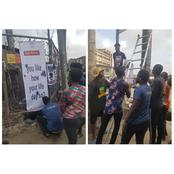 ENDSARS Protest Takes New Dimension In Lagos, People React (Photos)