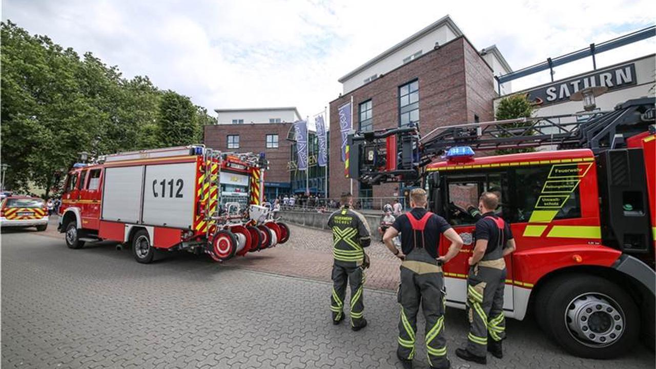Bocholter Shopping-Arkaden wegen Feueralarm evakuiert