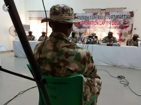 Nigerian soldier known as Maduabuchi has been sentenced to death by firing squad in Maiduguri