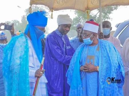 6 Photos: Umar Garbai Visits Emir of Kano