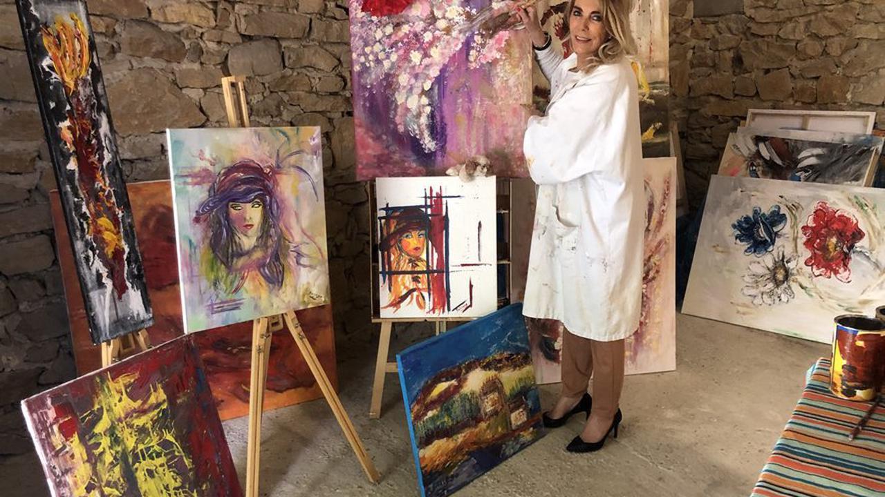 Marie-Annick Mariartist Bellego, une vie dans l'art